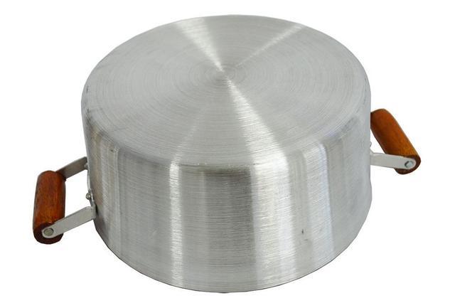 Imagem de Jogo De 5 Panelas Alumínio Fundido e Rebatido