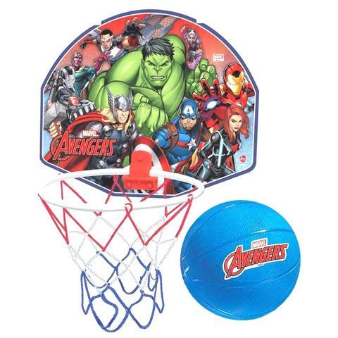 Imagem de Jogo De Basquete Vingadores Avengers Com Tabela + Aro + Bola