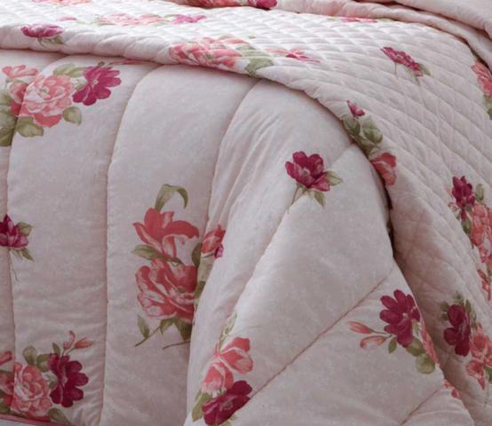Imagem de Jogo de Cama Casal 4 Peças Estampado Florido Perla Sultan