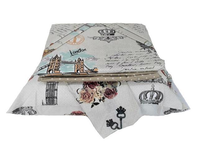 Imagem de Jogo de Cama Casal Cama Box 4 peças Facil Lavar Sultan