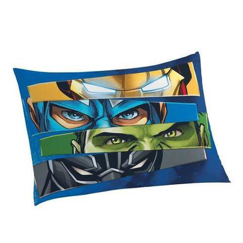 Imagem de Jogo de Cama Infantil Algodão Avengers 3 Peças Box Lepper