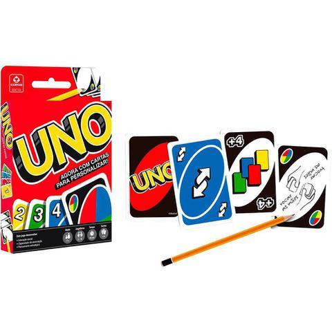 Imagem de Jogo De Cartas Uno Original Copag Mattel