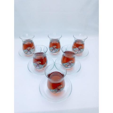 Imagem de Jogo de Chá Turco Com 12 Peças 160 ML  - Pasabahçe  Magazalari