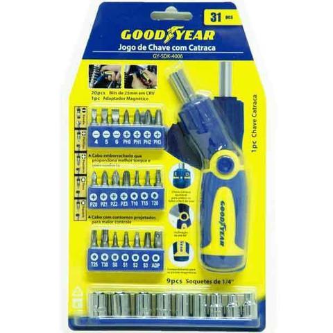Imagem de jogo de chaves com catraca GY-SDK-4006 Goodyear