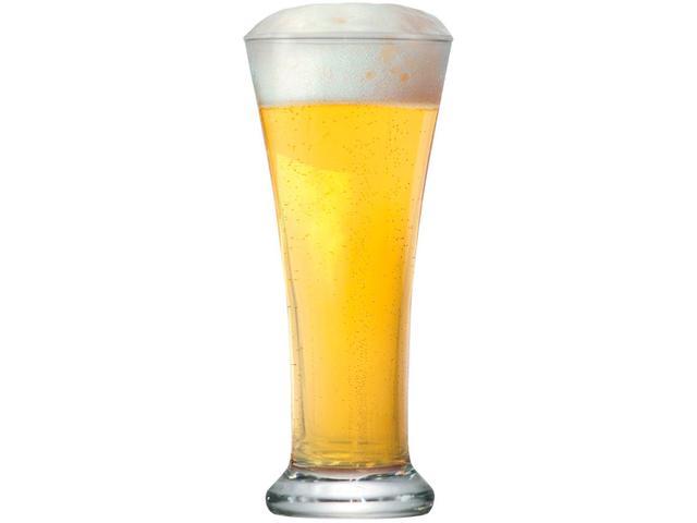 Imagem de Jogo de Copos de Vidro para Cerveja 275ml