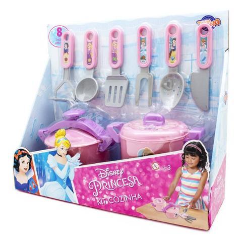 Imagem de Jogo de Cozinha Infantil com Panela de Pressão - Princesas - Disney - Toyng