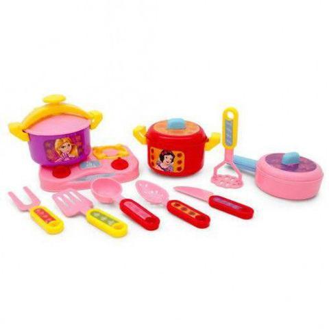 Imagem de Jogo de Cozinha Panelas Princesas 32053 Toyng