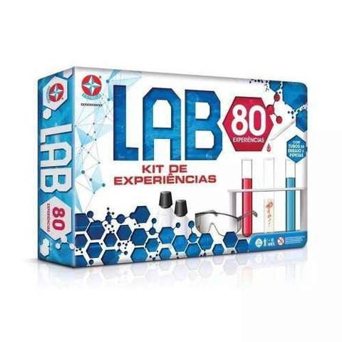 Imagem de Jogo De Experiências Lab 80 Experiências Original Estrela