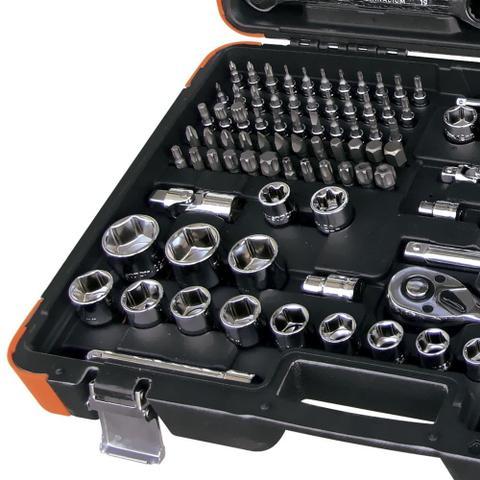 Imagem de Jogo de Ferramentas chaves combinadas com catraca 141 Peças - ROBUST - 5000T