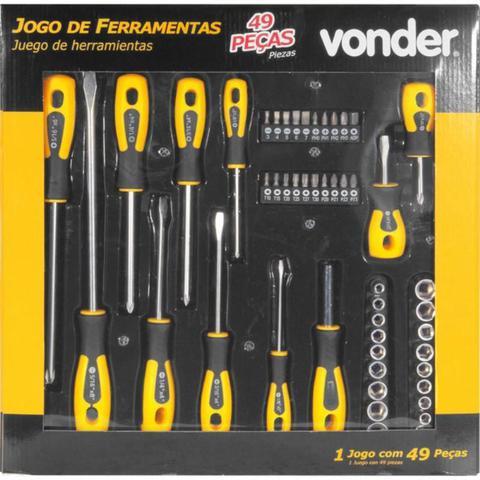 Imagem de Jogo de ferramentas com 49 peças VONDER