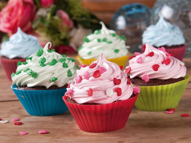 Imagem de Jogo de Formas para Cupcake Redonda 12 Peças