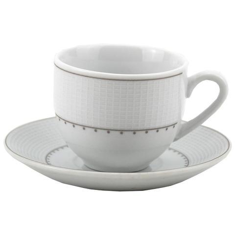 Imagem de Jogo de Jantar 42 Peças Porcelana Fina 912 Class Home