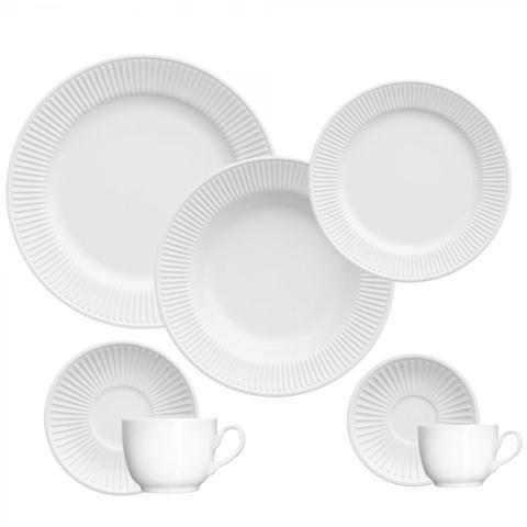 Imagem de Jogo de Jantar Em Porcelana Lines 42 Peças - Germer