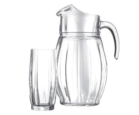 Imagem de Jogo de jarra e copos Dance - Pasabahce
