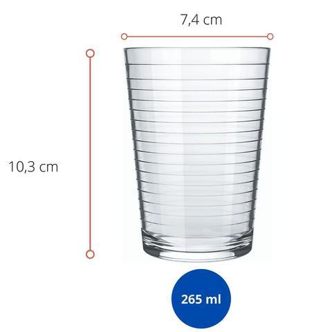 Imagem de Jogo de Jarra e Copos de Agua e Suco Ginga Nadir 5 Pecas