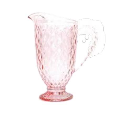 Imagem de Jogo de Jarra e Taças Bico de Abacaxi Quartzo Rosa Mimo Style