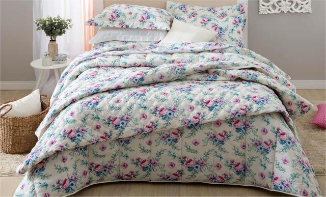 Imagem de Jogo de lençol Casal Queen 4 Peças Cama Box Alana Sultan