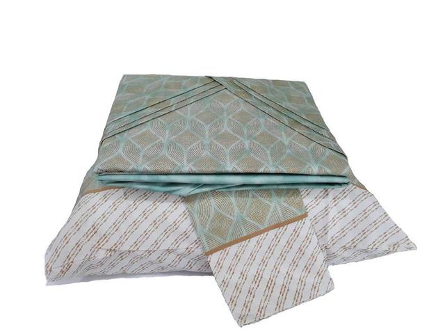 Imagem de Jogo de lençol Solteiro 3 Peças Facil Lavar Arizona Sultan