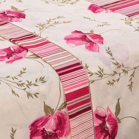 1be59f621 Imagem de Jogo de Lençol Solteiro Estampado 180 Fios 3 Peças - Floral Pink