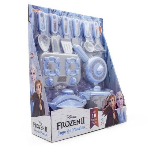 Imagem de Jogo de Panelas - 10 Peças - Frozen 2 - Disney - Toyng