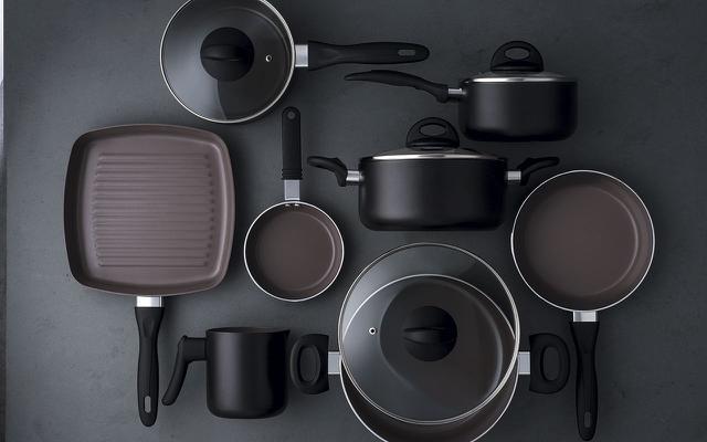 Imagem de Jogo de Panelas Antiaderente Ceramic Life Smart Plus 8 peças