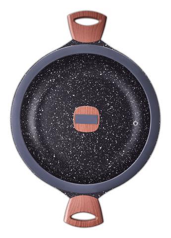 Imagem de Jogo De Panelas Antiaderente Cerâmico Titanium Indução Mta