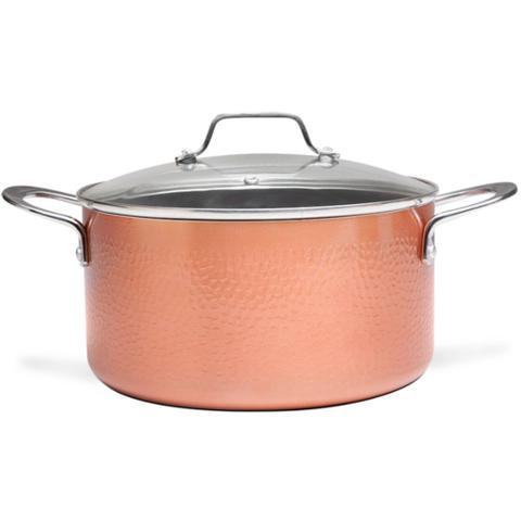 Imagem de Jogo de Panelas Antiaderente Fogão Indução Brinox Copper 4Pç