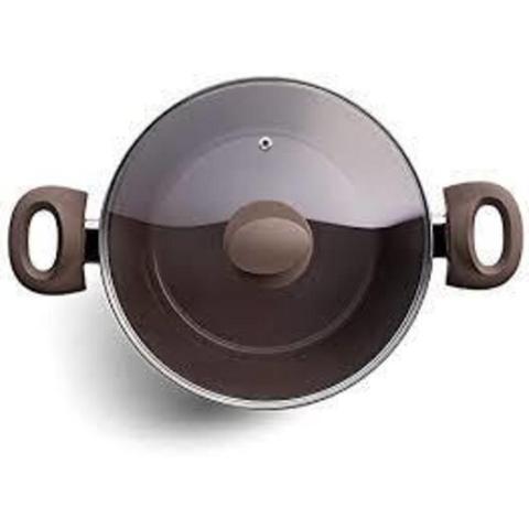 Imagem de Jogo de Panelas Brinox Alumínio Grosso 4,5mm 5 Peças Camurça
