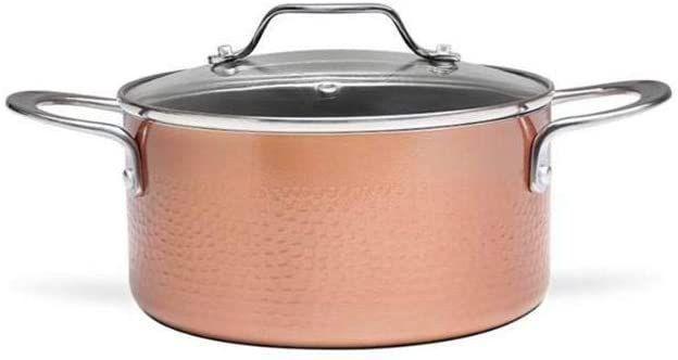 Imagem de Jogo de Panelas com Fundo de Indução 4 Peças Copper Cobre Brinox