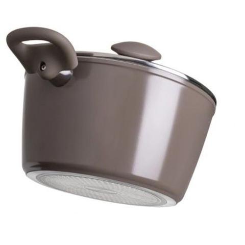 Imagem de Jogo de Panelas Fogão de Indução Optima Ceramic 5Pç Brinox