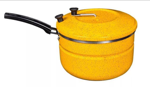 Imagem de Jogo De Panelas + Kit Café +  Pipoqueira Nº20 Laredu Amarelo