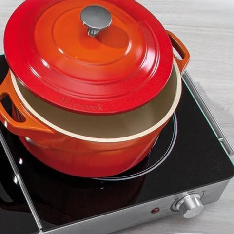 Imagem de Jogo De Panelas Le Cook Revestimento Cerâmico - 8 Peças