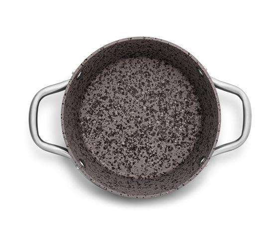Imagem de Jogo De Panelas  MTA 5 Peças Antiaderente Granito Gourmet Por Indução