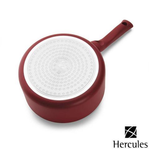 Imagem de Jogo de Panelas Vermelho Antiaderente 5 peças Fogão Indução - Hércules
