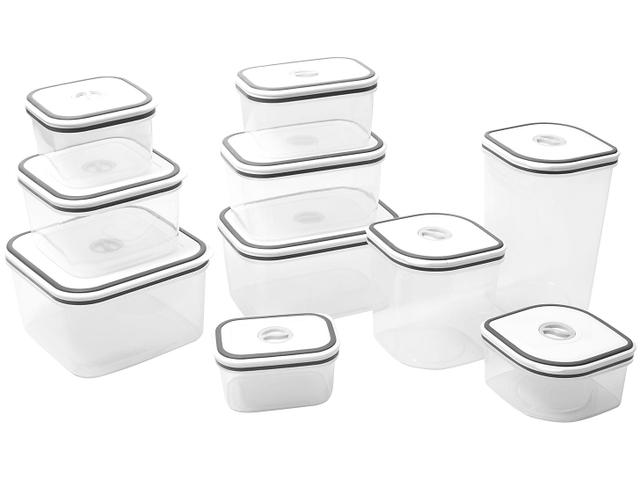 Imagem de Jogo de Potes de Plástico Hermético Electrolux