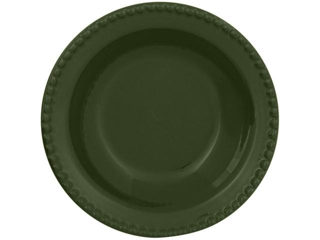 Imagem de Jogo de Pratos Redondo de Cerâmica Verde Fundo