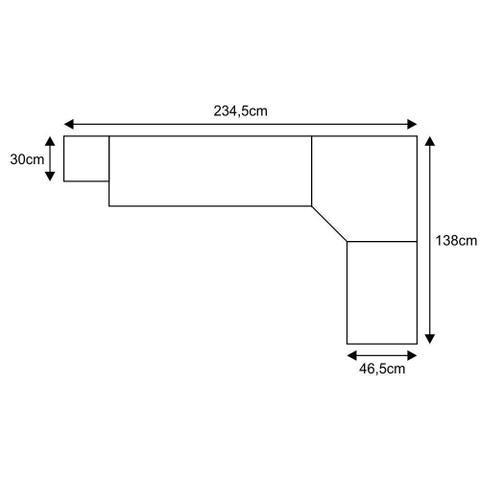 Imagem de Jogo de Quarto Solteiro Modulado 032 Smart - Eucamóveis