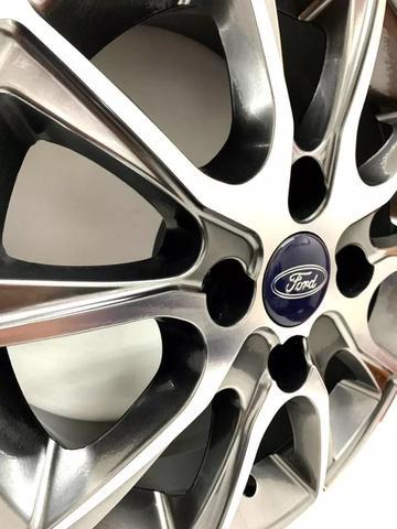 Imagem de Jogo De Rodas Scorro S220 Ford Aro 14 4x108 + Bicos