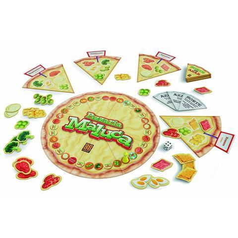 Imagem de Jogo De Tabuleiro Pizzaria Maluca Prepare a Pizza Grow 1283