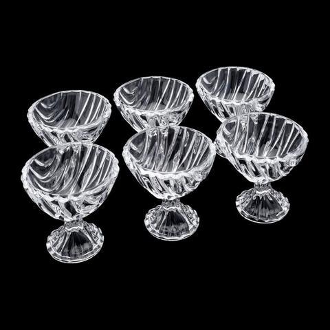 Imagem de Jogo de Taças de Sobremesa de Cristal 6 Peças Bamboo Wolff