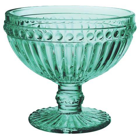 Imagem de Jogo de Taças de Sobremesa Empire Azul Tiffany 300 ml com 6 Peças Lyor