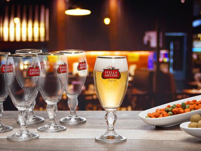 Imagem de Jogo de Taças para Cerveja de Vidro 6 Peças