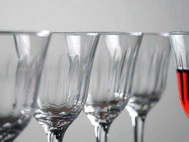 Imagem de Jogo de Taças para Vinho Vidro 6 Peças 250ml