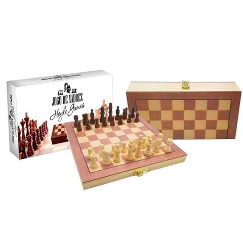 Imagem de Jogo de xadrez e dama