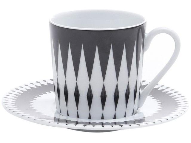 Imagem de Jogo de Xícaras para Café Porcelana 6 Peças