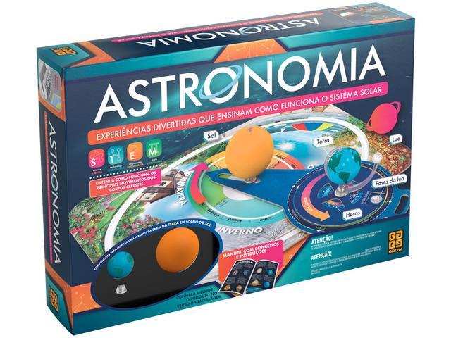 Imagem de Jogo Educativo Astronomia Tabuleiro Grow
