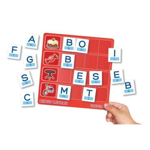 Imagem de Jogo Educativo - Bingo das Letras - Grow