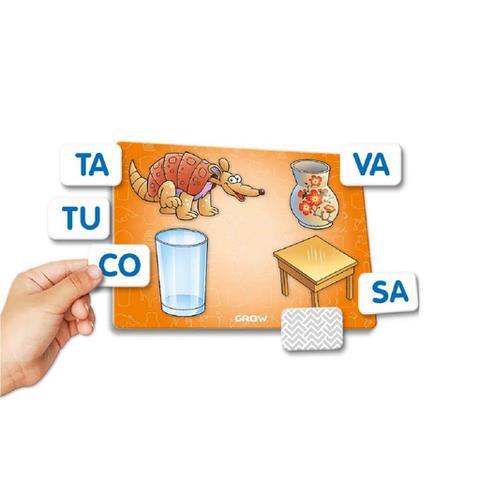 Imagem de Jogo Educativo Memória Sílabas 01698 - Grow