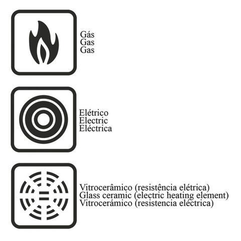 Imagem de Jogo Espagueteira Alumínio Antiaderente 3 Peças Mônaco Tramontina Preto