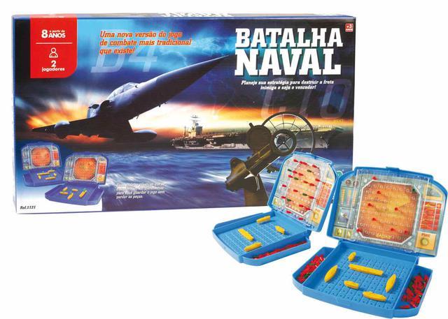 Imagem de Jogo Estratégia Batalha Naval Nig